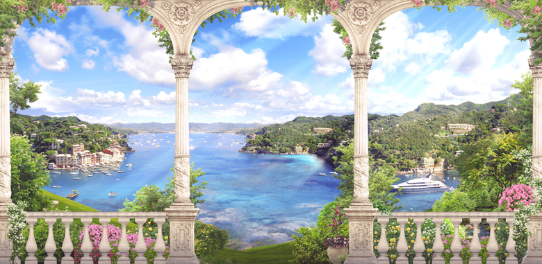 Phong cảnh Vịnh biển đẹp