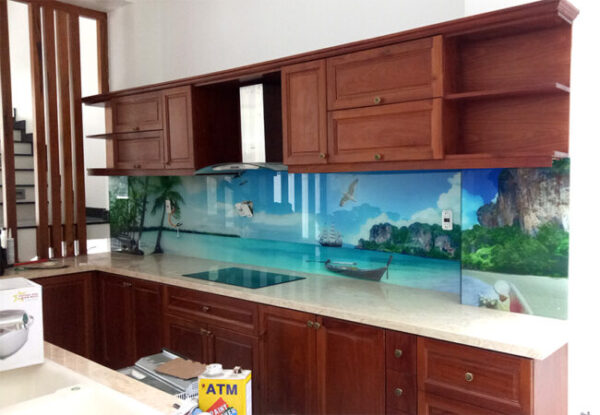 Mặt dựng kính bếp 3D
